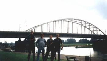 55 rocznica Bitwy pod Arnhem Holandia wrzesień 1999