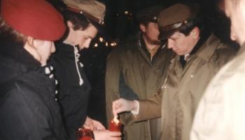 Betlejemskie Światełko Pokoju grudzień 1994