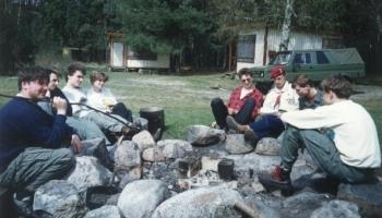 Biwak zaliczeniowy przed WWCzB 30.04-2.05.1992