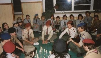 Kurs drużynowych w Limanowej 27.01-10.02.1991
