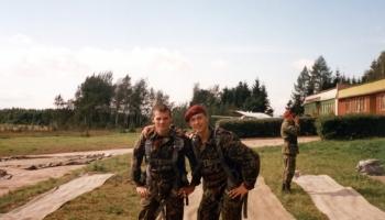 Kurs spadochronowy  17-24.09.2001