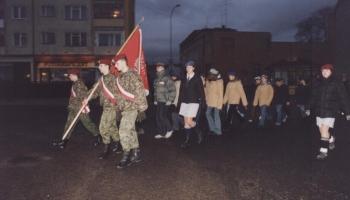 Obchody Święta Niepodległości 11.11.2002
