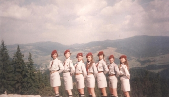 Obóz w Jaworkach 8-28.08.1994