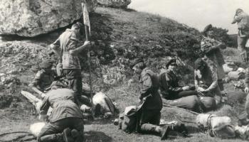 Obóz wędrowny na Jurze Krakowsko-Czeęstochowskiej-19-28.07.1983