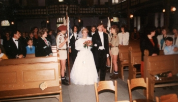 Ślub komendanta hufca