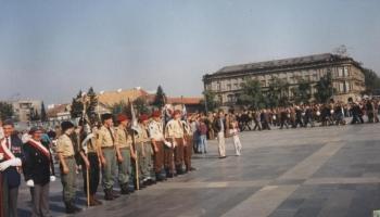 Światowy Zlot Spadochroniarzy - wrzesień 1992