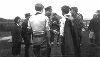 VI Polowa Zbiórka Harcerstwa Starszego-Frombork 26-29.08.1987