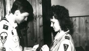 Wigilia drużyny 16.12.1989