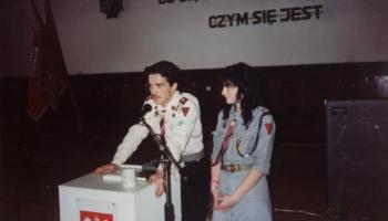 Zbiórka Wyborcza Delegatów na Zjazd ZHP 17.11.1990