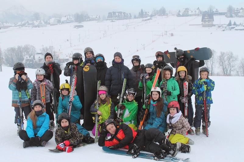 Zimowisko hufca w Murzasichle 30.01 – 8.02.2015