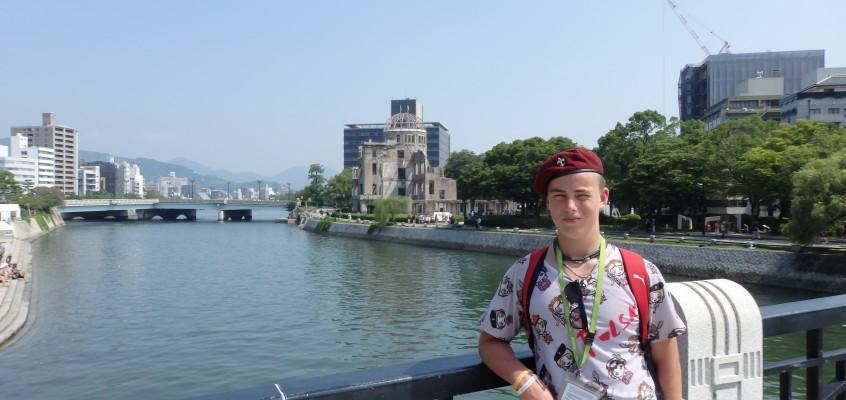 Druh Marcin Burandt – przyboczny7 HDCzB uczestniczył w 23 Jamboree w Japonii