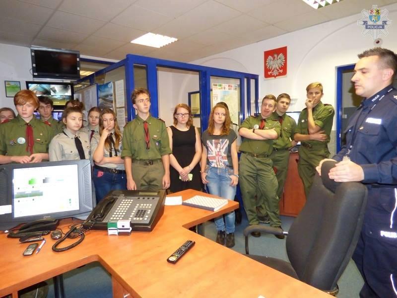 Wizyta w Komendzie Powiatowej Policji 13.11.2015
