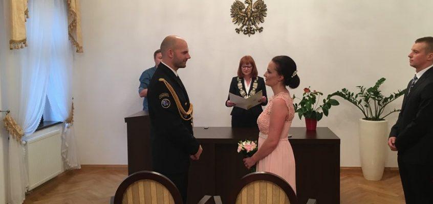 Ślub druhny Darii i druha Andrzeja
