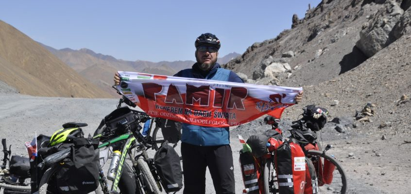 Wspomnienia druha Marcina z ubiegłorocznej wyprawy rowerem do Pamiru