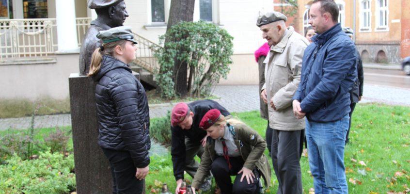 Przyjazd weterana Alfonsa Trockiego do Lęborka
