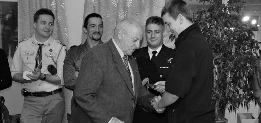 Na wieczną wartę odszedł harcmistrz Włodzimierz Mikuć – pierwszy drużynowy lęborskiej 7 Drużyny Harcerskiej z 1959 roku