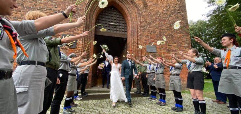 Druhna Agata Dąbrowska wyszła za mąż