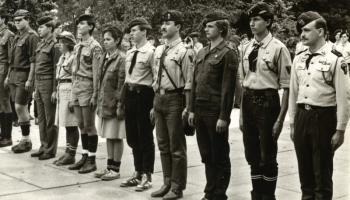 43. Rocznica Bitwy pod Arnhem. Warszawa 27.09.1987