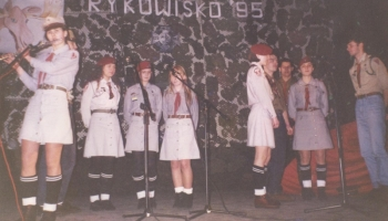 Festiwal Piosenki Harcerskiej 8.04.1995