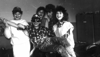 kurs drużynowych w Krakowie 1989