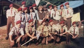 Obóz w Bieszczadach 19.07.-5.08.1990