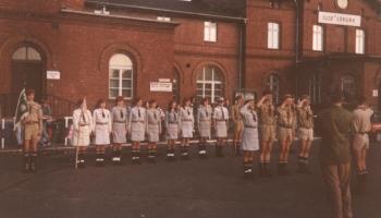 Obóz wędrowny Bieszczady-Tatry 11-28.08.1993