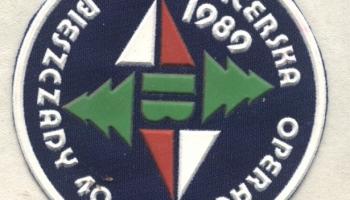 Obóz wędrowny w Bieszczadach 30.07-21.08.1989