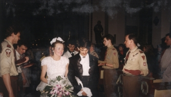 Ślub dh Bartka 17.04.1993
