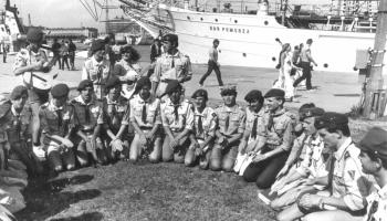 V  Polowa Zbiórka Harcerstwa Starszego-Gdynia 24-27.08.1986