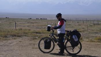 Wyprawa rowerowa druha Marcina do Pamiru