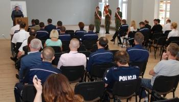 Wystawa w Szkole Policji w Pile