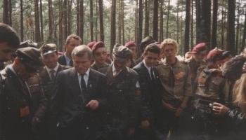 XI Polowa Zbiórka Harcerstwa Starszego sierpień 1993