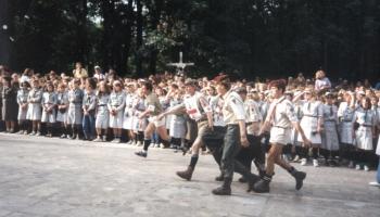 Zlot 80 lecia harcertwa w Pająku k.Częstochowy-1991