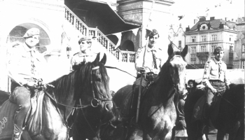 Zlot harcerstwa w Krakowie 26-28.09.1986