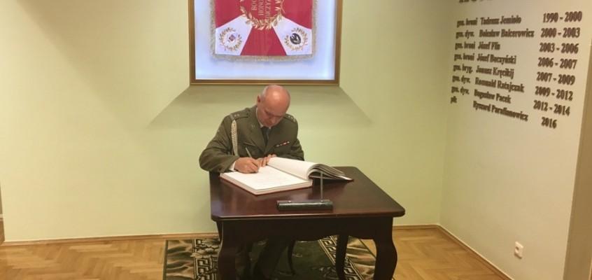 Pożegnanie ppłk. Jana Strynowicza z mundurem
