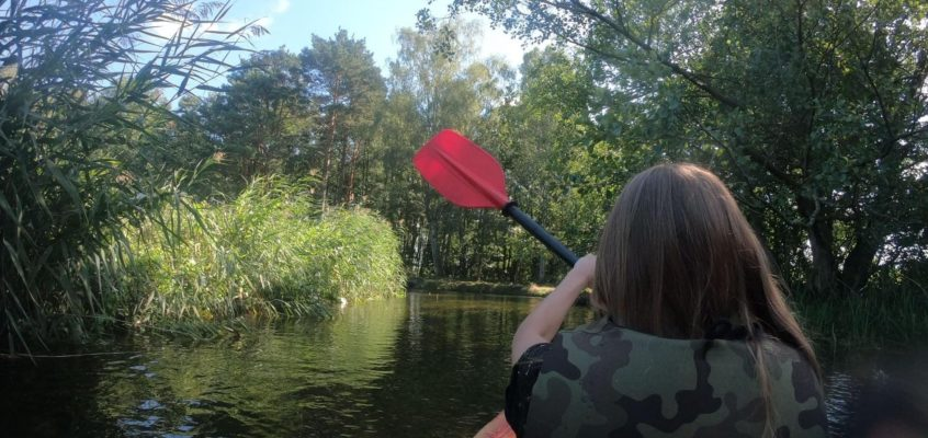 Instruktorski spływ kajakowy