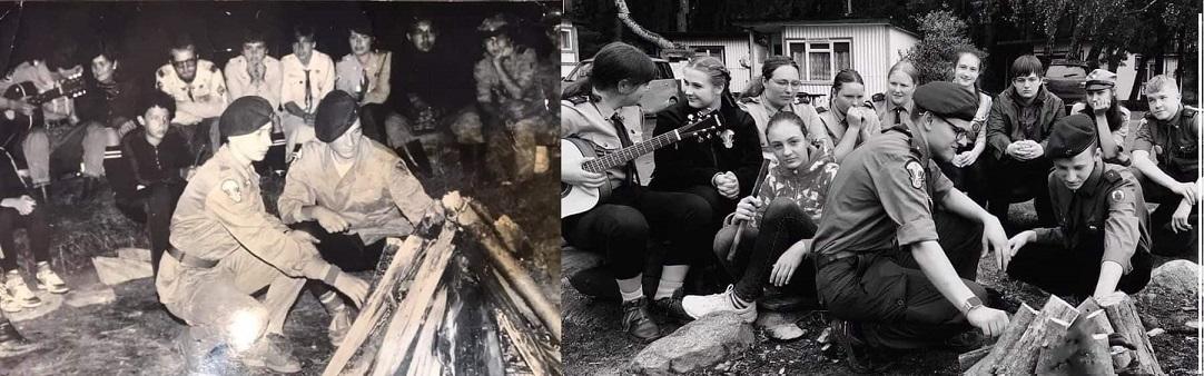 Rajd z okazji 75-lecia Hufca ZHP Lębork